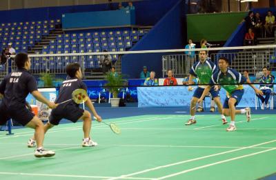 Badminton semifinal pan 2007